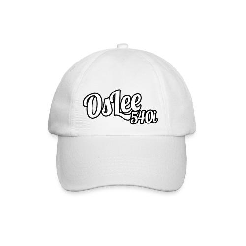 OsLeeLogoschattenGross - Baseballkappe