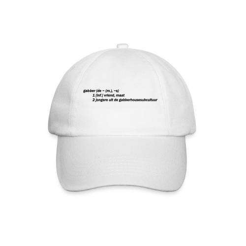 gabbers definitie - Baseballcap