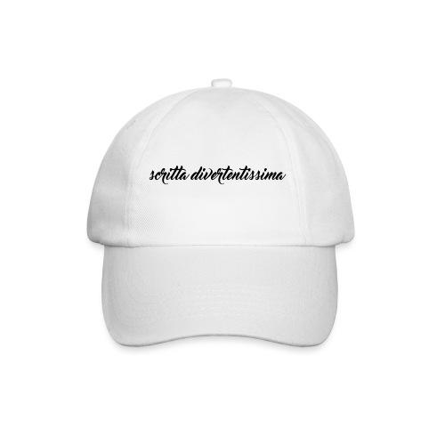 SCRITTA DIVERTENTE - Cappello con visiera