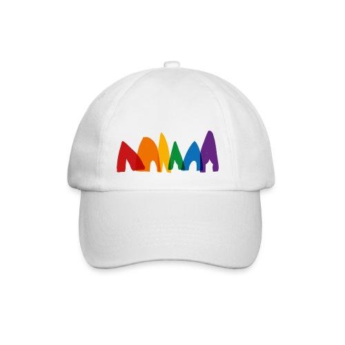 row-of-tents - Baseball Cap