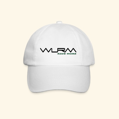 WLRM Schriftzug black png - Baseballkappe