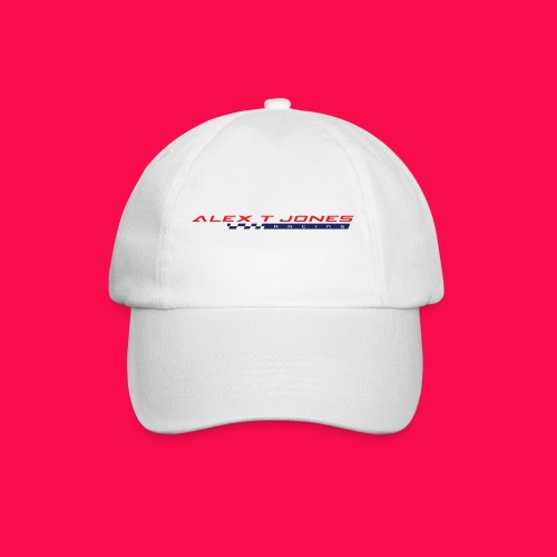 alex t jones racing logo CLEAR BKGD copy png - Baseball Cap