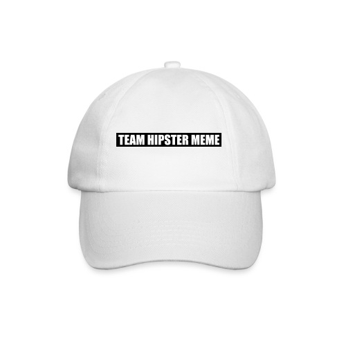 TEAM HIPSTER MEME LOGO BIGGER png - Baseball Cap