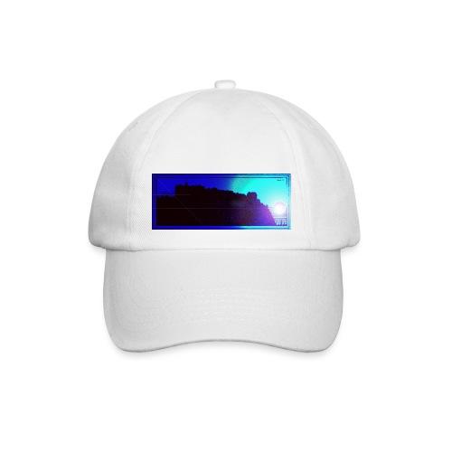 Silhouette of Edinburgh Castle - Baseball Cap