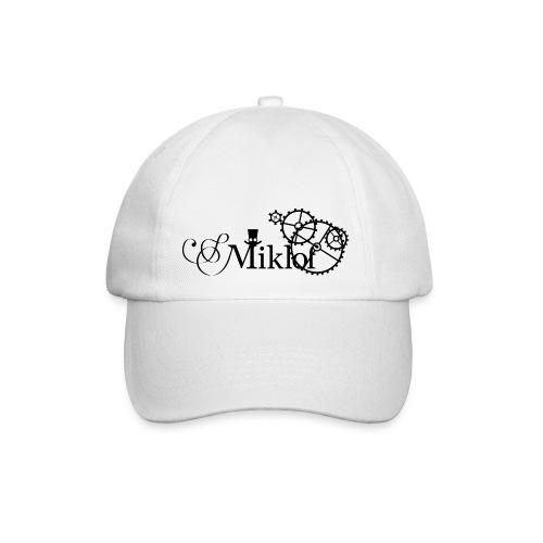 miklof logo black 3000px - Baseball Cap