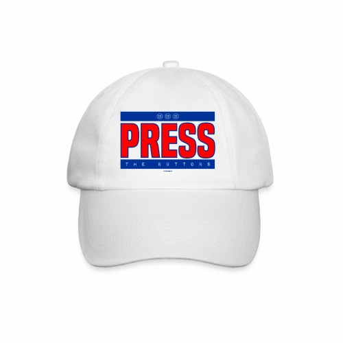 Press the buttons - Baseballcap