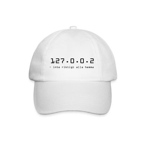 127.0.0.2 - inte riktigt alla hemma - Basebollkeps