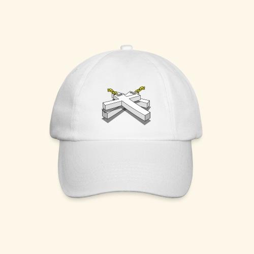Gold Crosses - Cappello con visiera