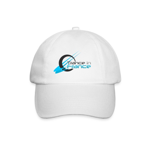 Trance In France White - Large Logo - Casquette classique