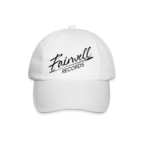 Fairwell Records - Black Collection - Baseballkasket