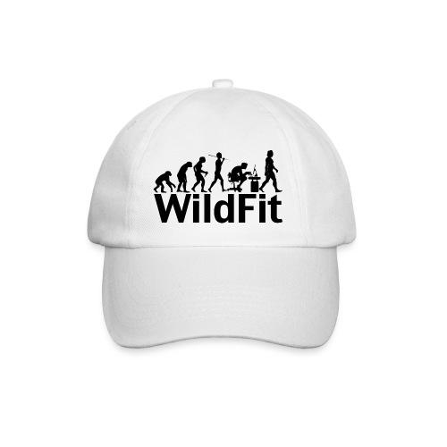 WildFit Logo Evolution in Schwarz - Baseballkappe
