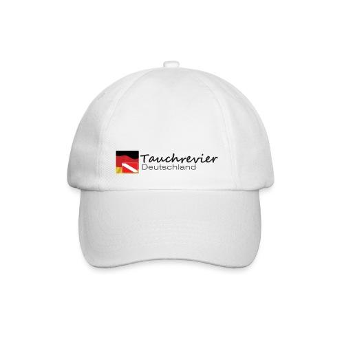Tauchrevier Deutschland Logo classic schwarz - Baseballkappe