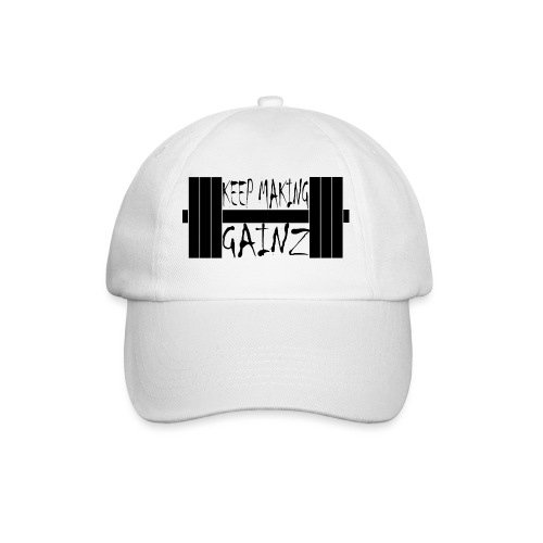 Weight + Text - Baseball Cap