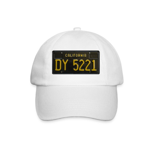 CALIFORNIA BLACK LICENCE PLATE - Baseball Cap