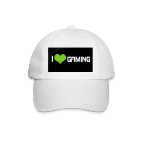 I Love Gaming Shadow Gamer - Baseballkappe
