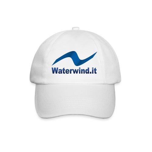 logo waterwindpuntoit no sfondo png - Baseball Cap