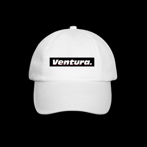 Ventura Black Logo - Baseballcap