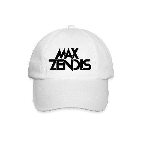 MAX ZENDIS Logo Big - White/Black - Baseballkappe