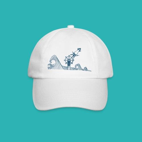 Carta_timone_blu-png - Cappello con visiera