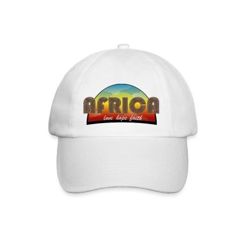 Africa_love_hope_and_faith2 - Cappello con visiera