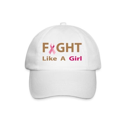 fight like a girl - Basebollkeps