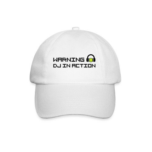 Warning DJ in Action - Baseballcap