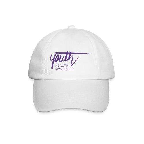 YHM purple logo RGB no background png - Baseball Cap