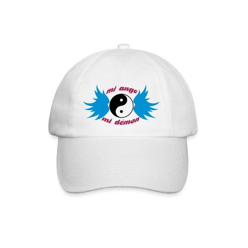 Débardeur Bio Femme Mi ange Mi démon - Baseball Cap