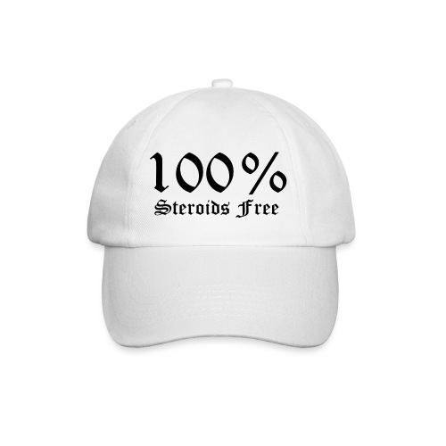 100% bez sterydów - Czapka z daszkiem