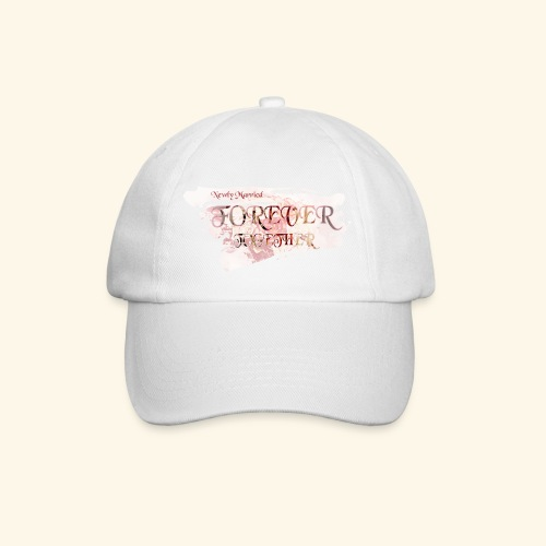 "Newly married together forever ""weddingcontest"" - Baseball Cap"