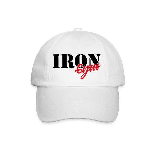 iron gym logo black - Gorra béisbol