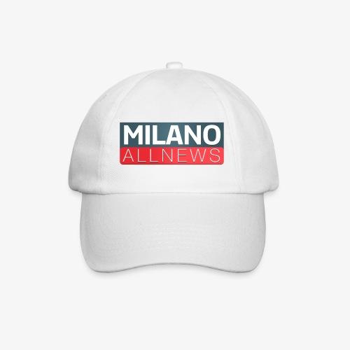 Milano AllNews Logo - Cappello con visiera