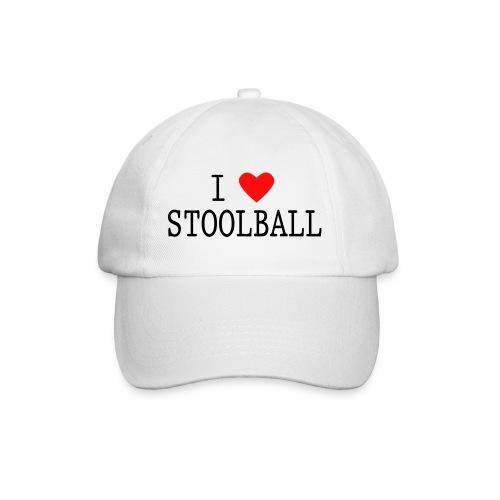 I Love Stoolball - Baseball Cap