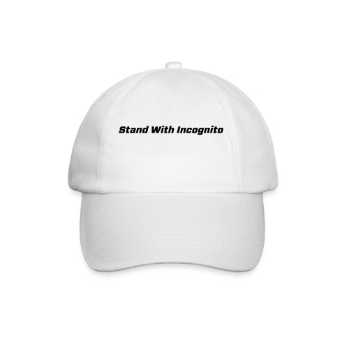 Stand With Incognito - Baseball Cap