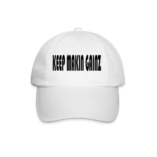 KeepMakinGainz_black - Baseball Cap