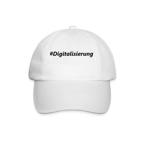 #Digitalisierung black - Baseballkappe