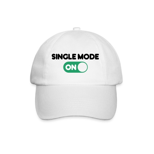 single mode ON - Cappello con visiera
