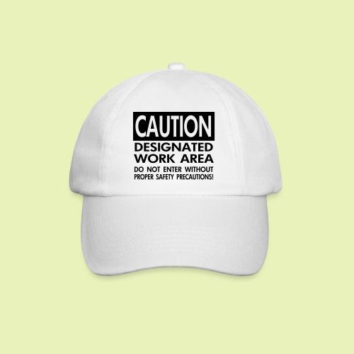 Caution work area - Baseballcap