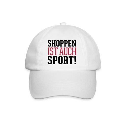 Shoppen ist auch Sport! - Baseballkappe