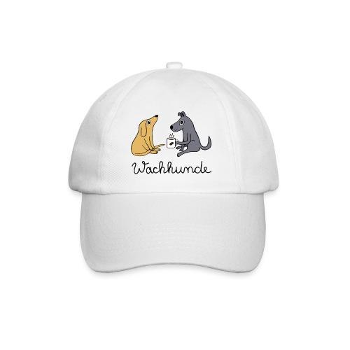Wachhunde - Nur wach mit Kaffee - Baseballkappe