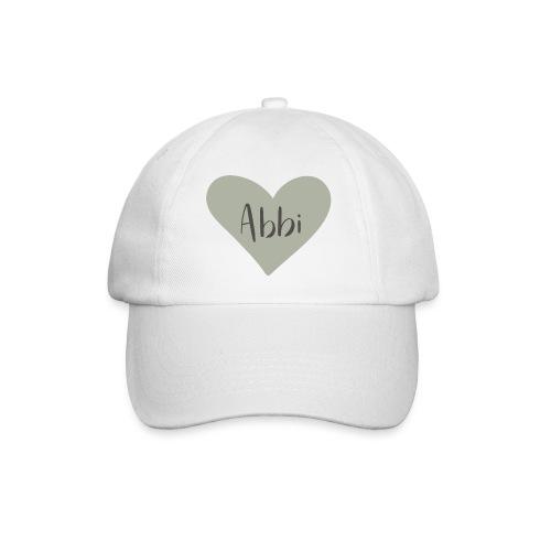 Abbi - hjärta - Basebollkeps