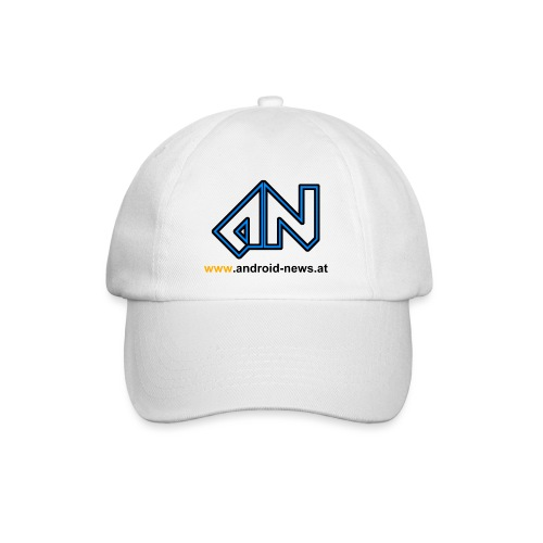 Android News Schwarz - Baseballkappe