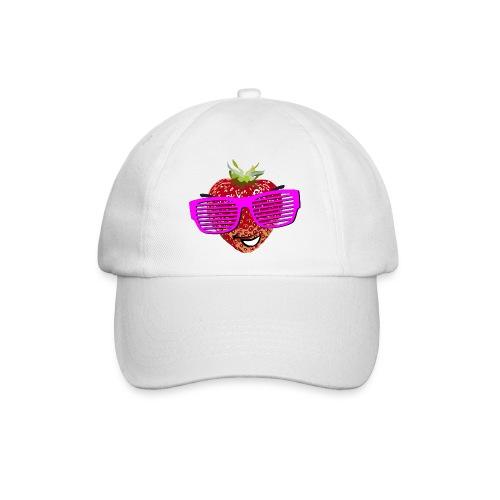 geile Erdbeere coole Sonnenbrille Hipster sunglass - Baseball Cap