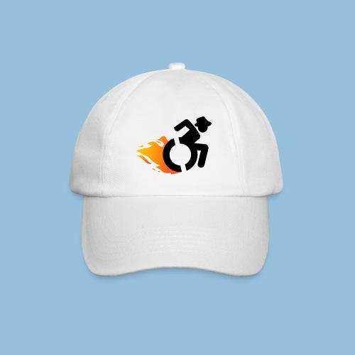 Roller met vlammen 016 - Baseballcap
