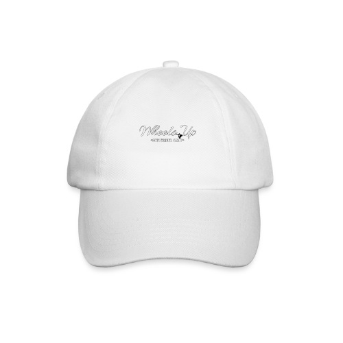wheels up black figure - Baseball Cap