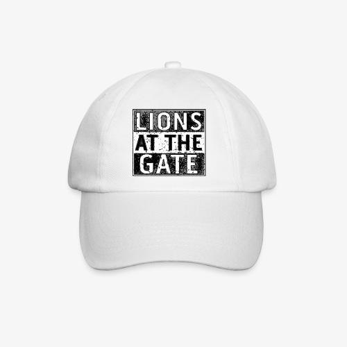 LIONS AT THE GATE BAND LOGO - Baseballcap