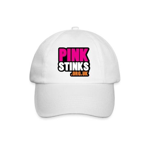 Pinkstinks SQUARE - Baseball Cap