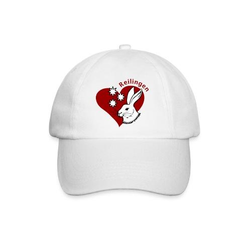 Reilingen mit Herz und Hase - Baseballkappe