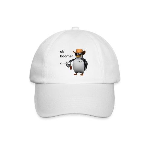 Ok Boomer Penguin Sheriff - Baseball Cap
