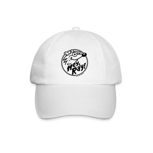 Hey Ray Logo black - Baseballkappe